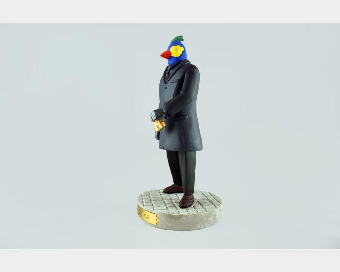 張騰遠-鸚鵡人公仔-Simulator版
