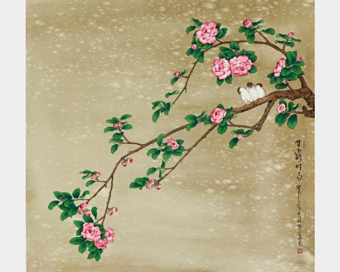 陳士侯- 茶花雙侶