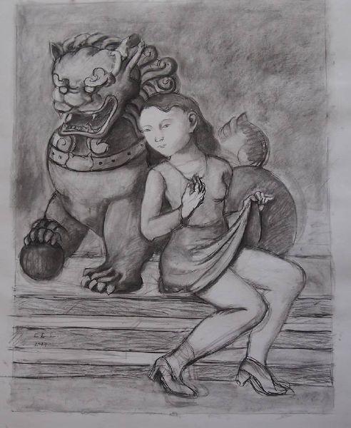 林麗玲-石獅子
