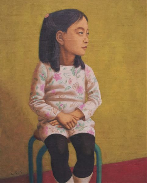 林麗玲-看遠方的少女