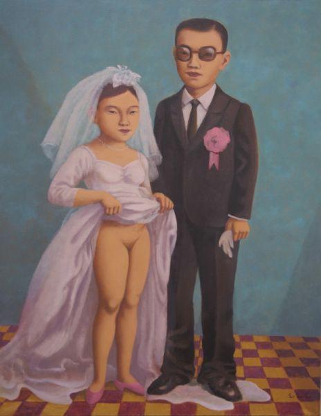 林麗玲-結婚