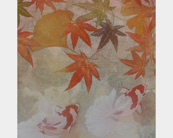 田中裕子-楓葉之下的金魚