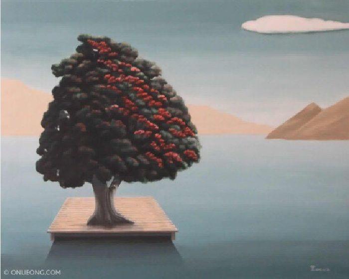 翁樹木(翁笠)-孤獨的風景