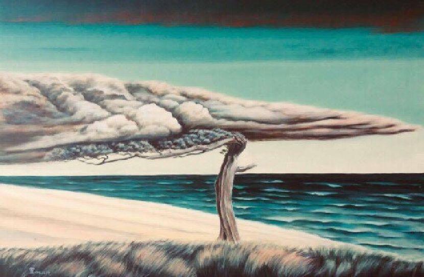 翁樹木(翁笠)-風雨之前