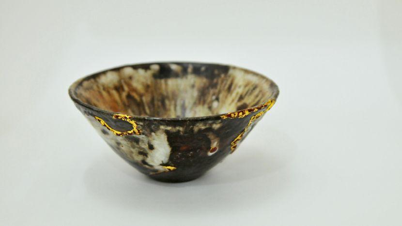 孫福昇-斗笠茶碗