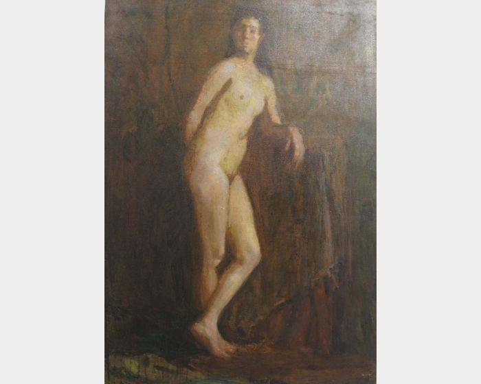 周大集-立姿裸女2