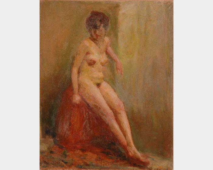 周大集-裸女