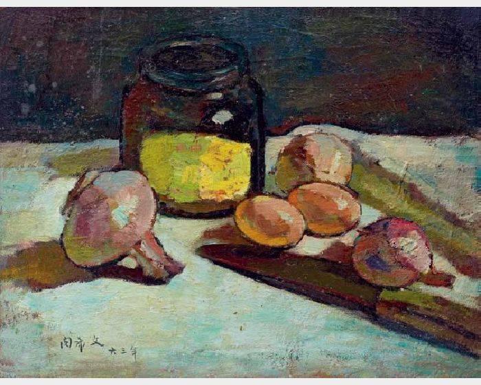 閔希文-雞蛋洋蔥和瓶子