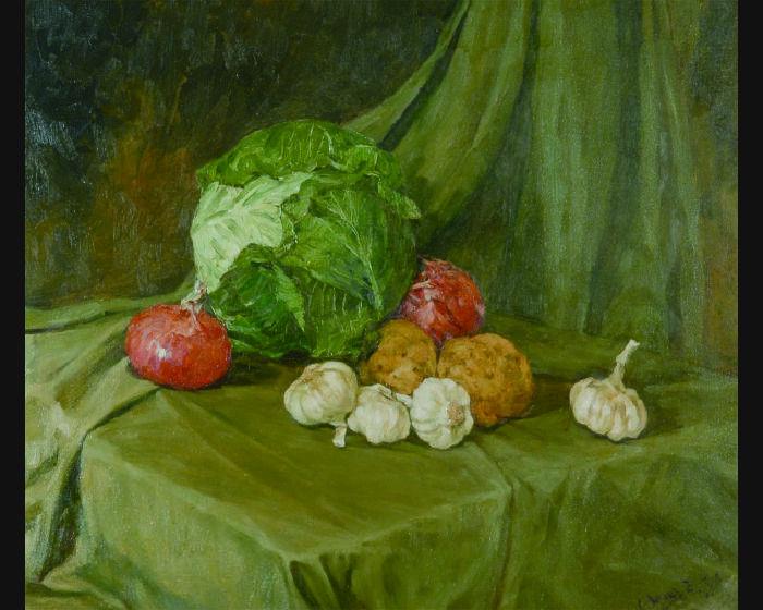 汪志傑-靜物蔬果