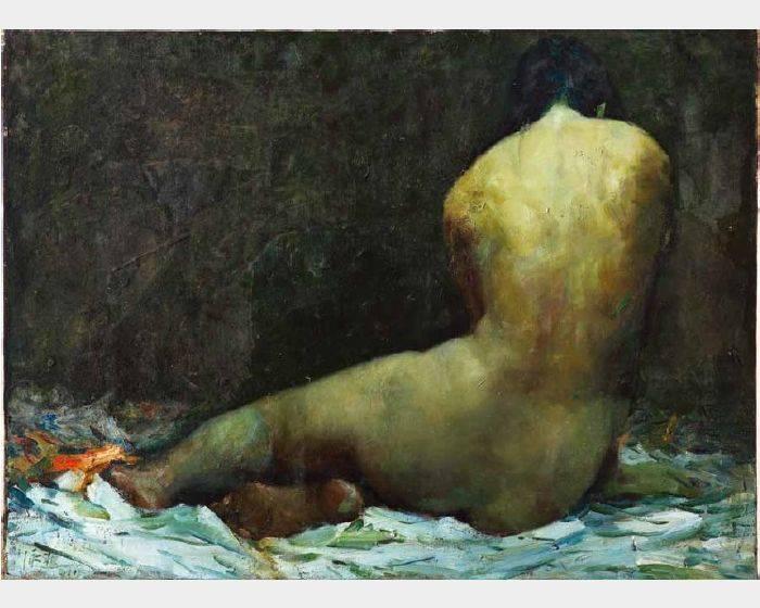 杜泳樵-裸女