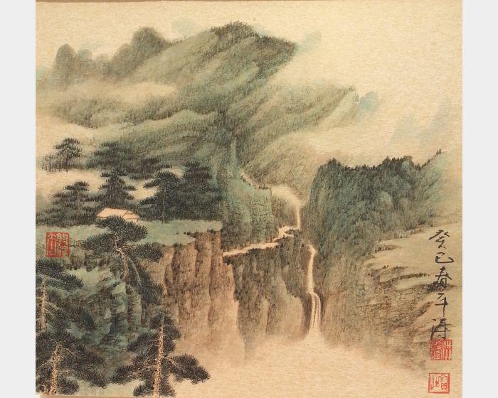洪平濤-幽居圖