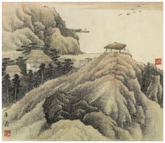 洪平濤-山水1