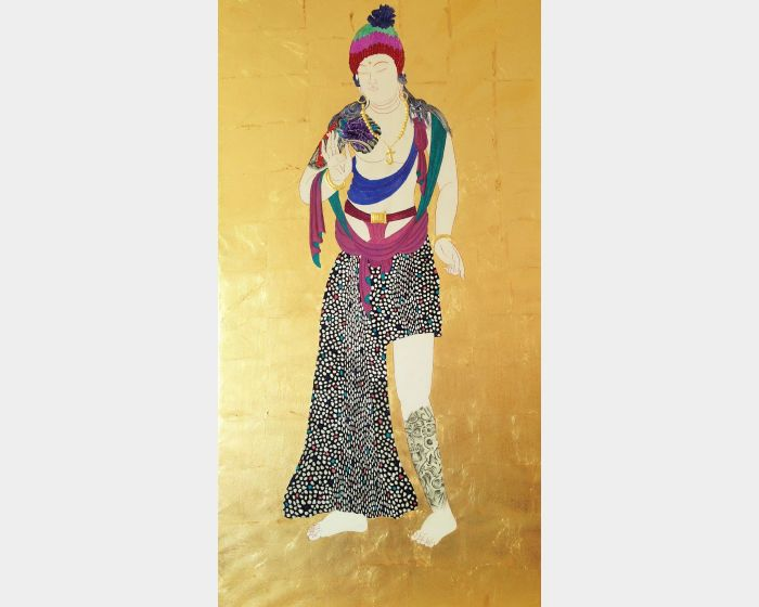蕭博駿-時代的信仰(刺青)