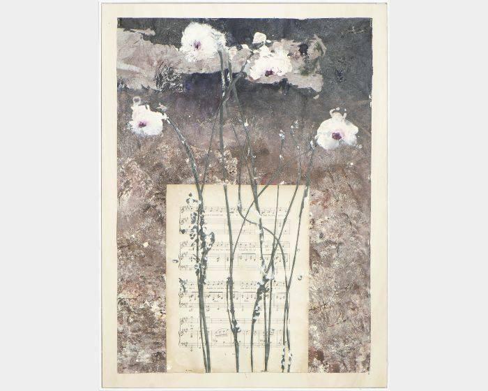 布列姬塔‧羅賽媞-Vase of musical flowers