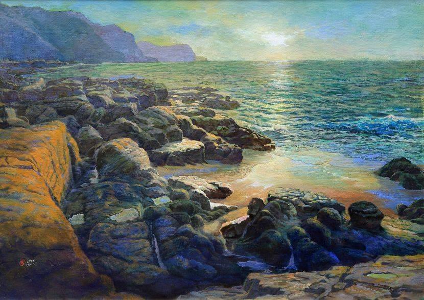郭明福-靜謐海灘