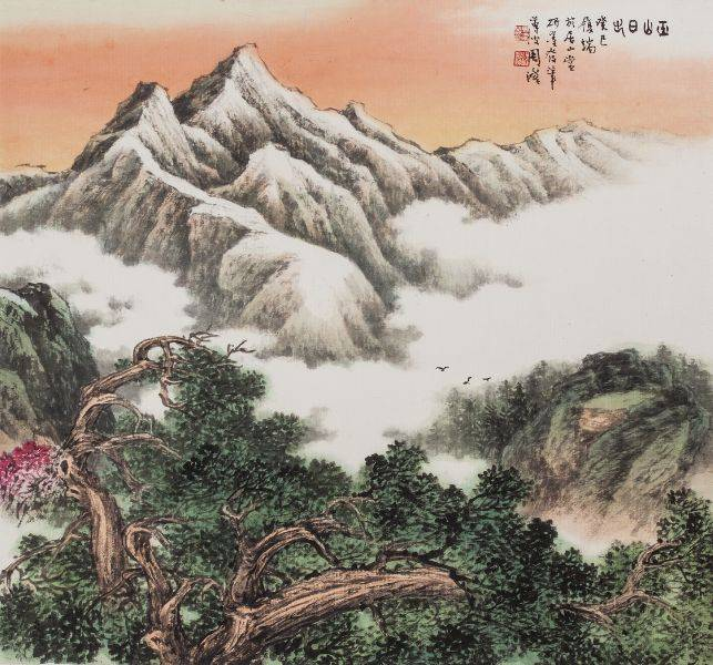 周澄-玉山日出