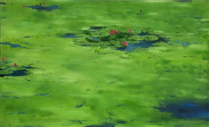 沈東榮-綠 海