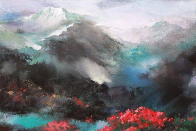 沈東榮-玉山瑞雪