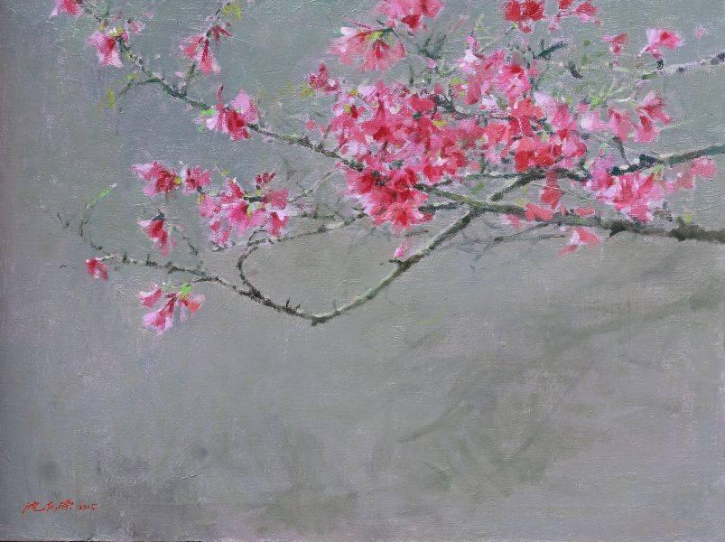沈東榮-粉 櫻