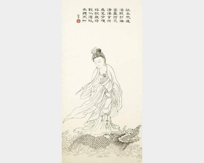 陳朝寶-龍頭觀音