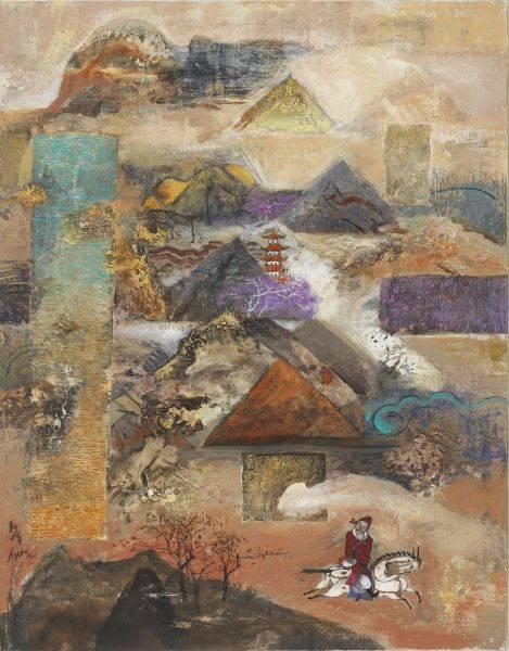 陳朝寶-放情林壑圖