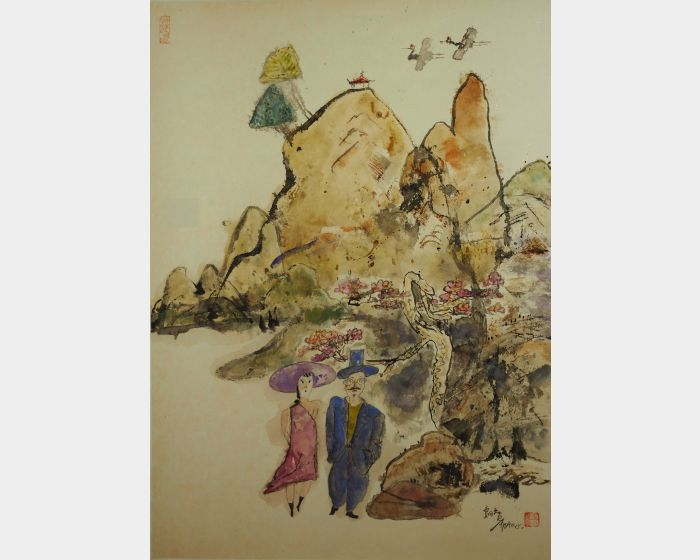 陳朝寶-春遊圖