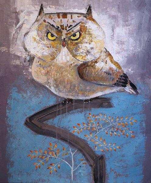 陳朝寶-貓頭鷹