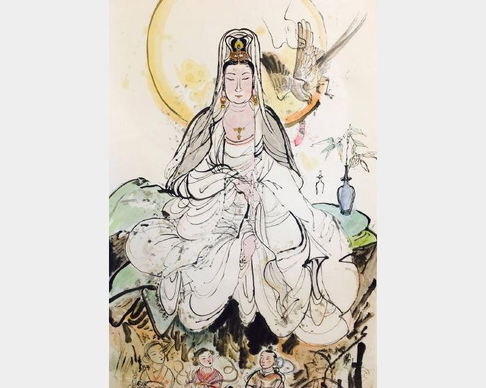 陳朝寶-觀世音菩薩初稿
