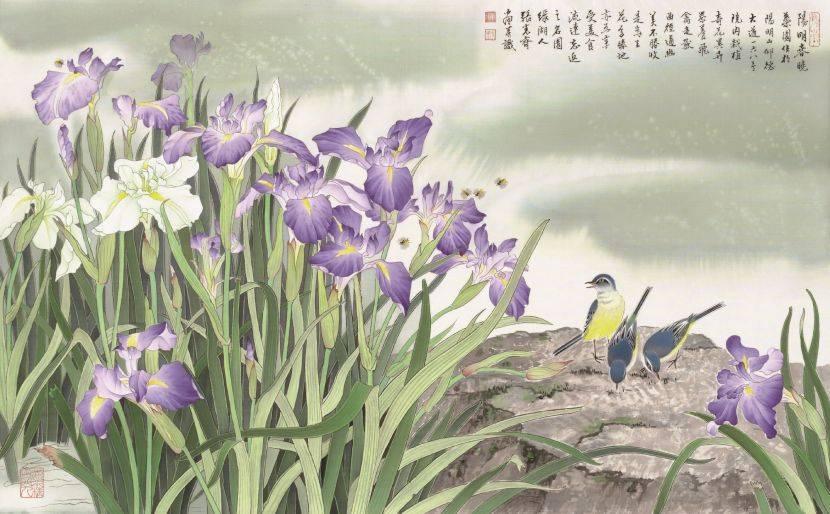 張克齊-陽明春曉