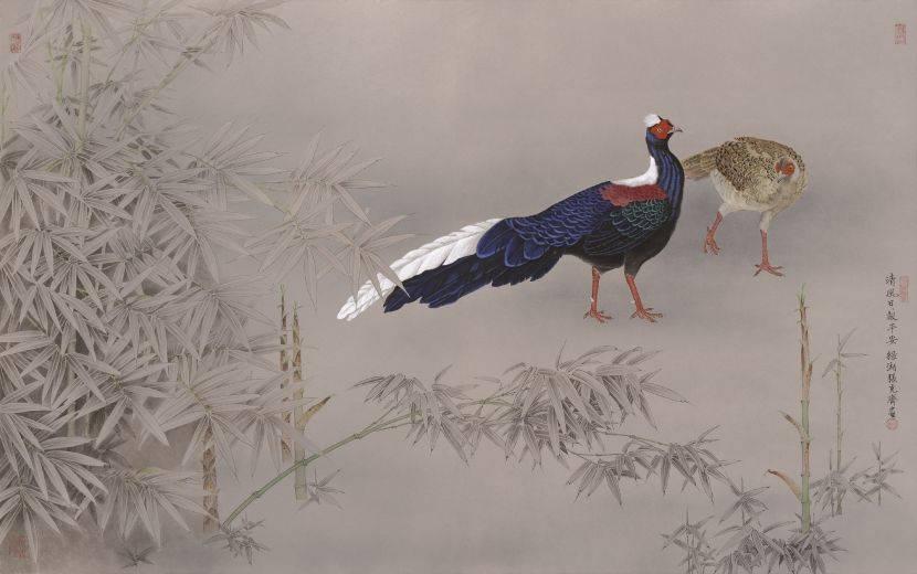 張克齊-清風日日報平安 (藍腹鷴)