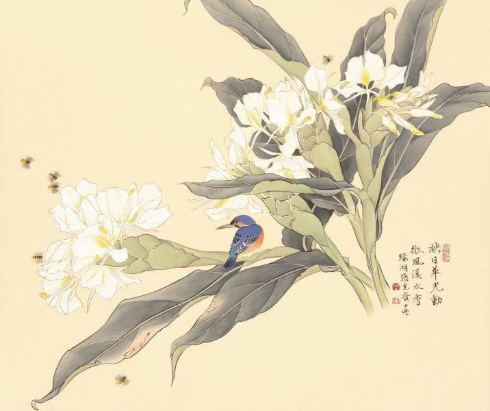 張克齊-微風溪水香