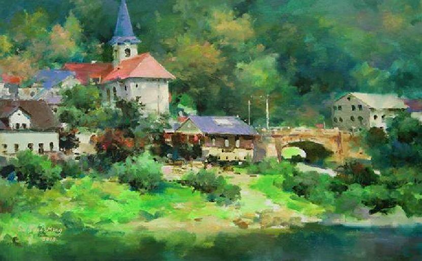 蘇瑞明-捷克湖畔