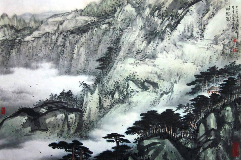 林章湖-訪勝圖