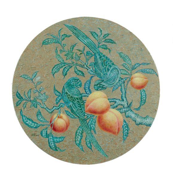 潘鈺-雙鸚蜜桃-Ⅲ