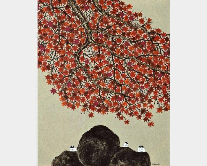 散子-楓濃 Luxuriant maple