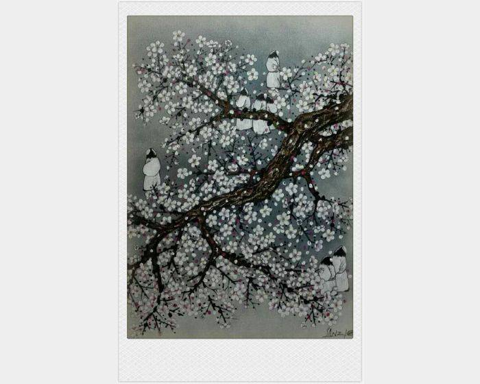 散子(中國)-梅花弄 Wintersweet flicker