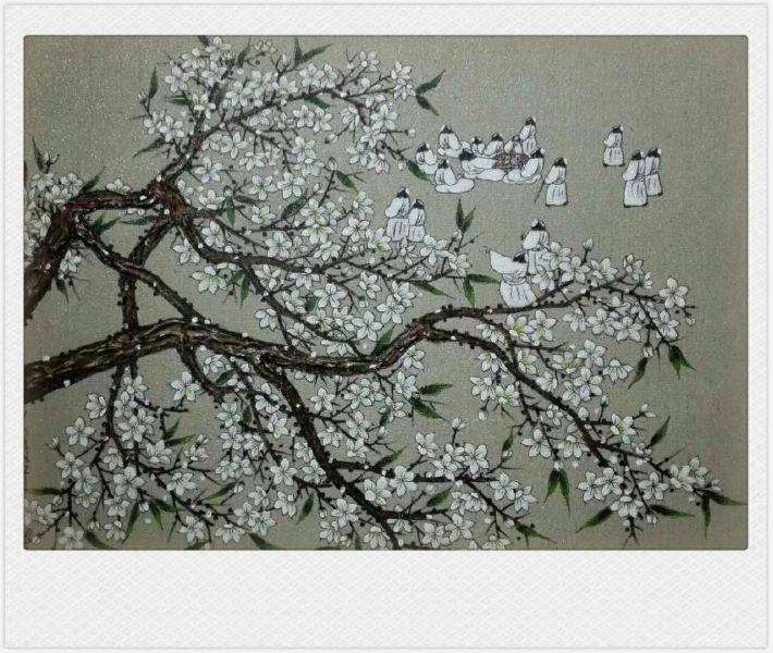 散子(中國)-花弈 The game of flowers