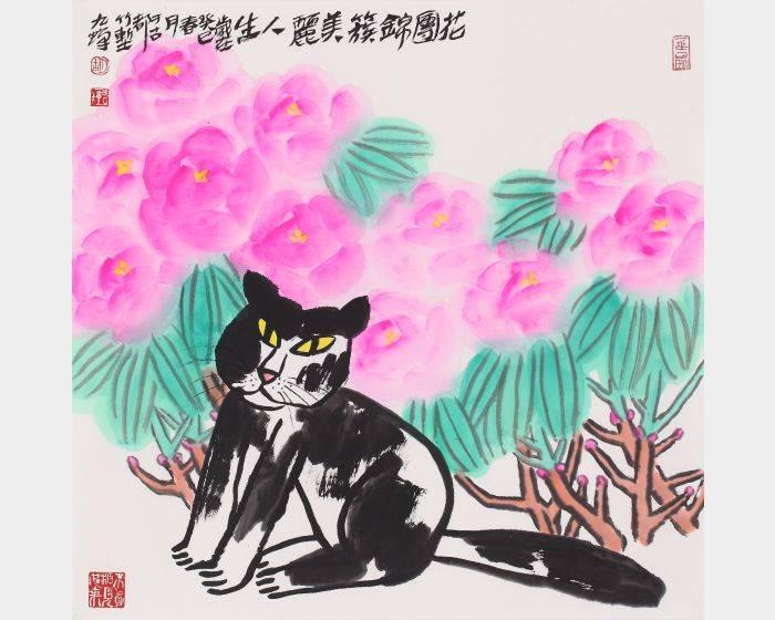 胡九蟬-*花團錦簇美麗人生