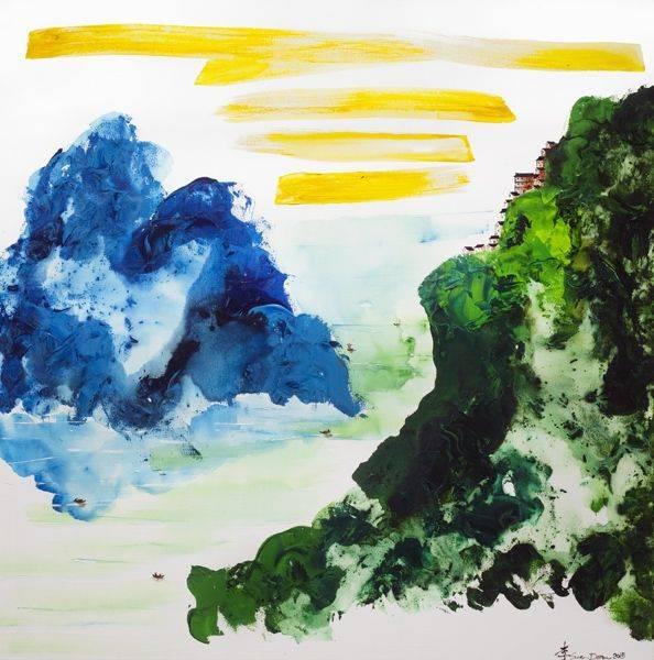 李善單-妙得江山/海天傳神Wonderful Attainment/The Ocean and Sky Do Transmit