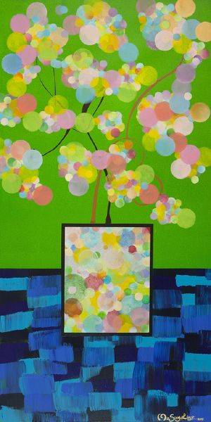 瑪馨玲-花團錦簇/坐擁錦繡Spectacular Blossom/Sit Enjoying Colorful Splendor