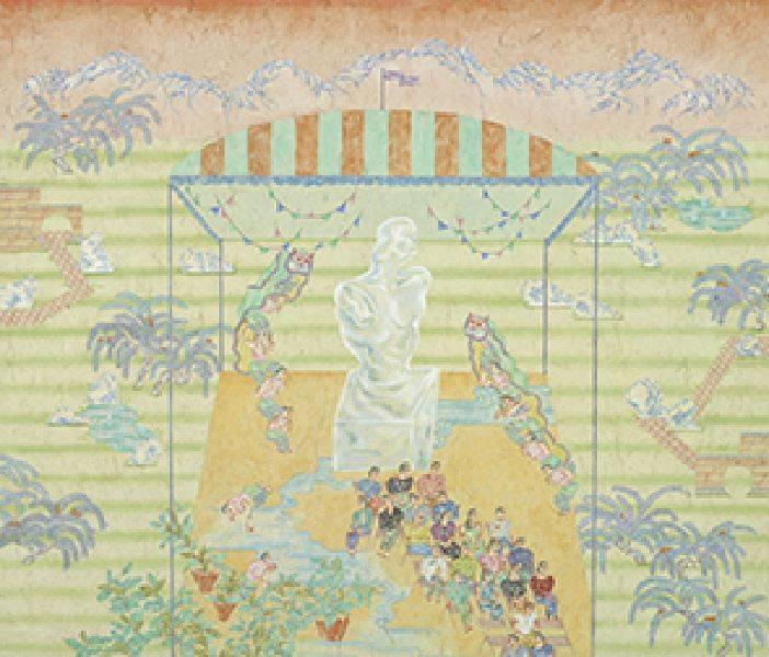 顏妤庭-賀蘭山下的開幕式
