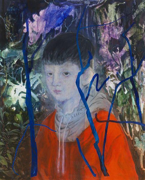 蘇煌盛-在樹陰下的少年