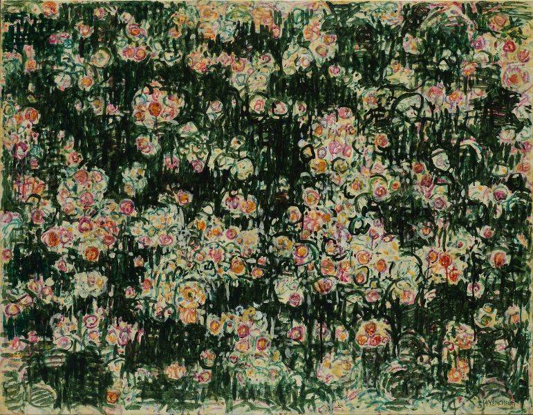 顏貽成-微風花草-1405