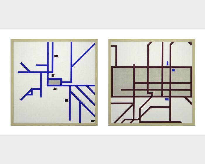 陳曉朋-城市框架 IV-我的電車與火車 City Frame IV - My Tram & Train