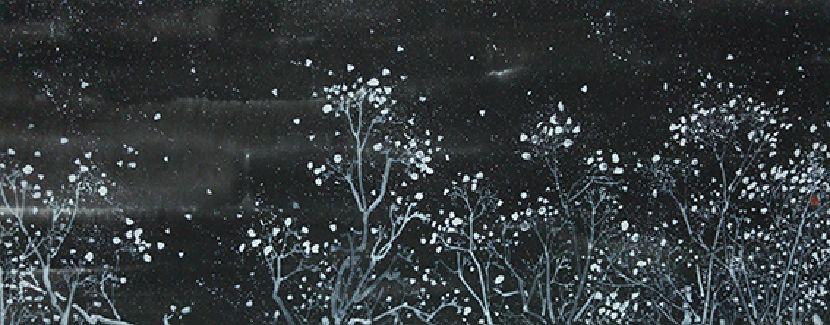 蔡譯德-一花一世界 ─ 星夜系列之二