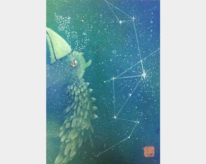 吳佳容-銀河裡的輕旅行-泡影系列3