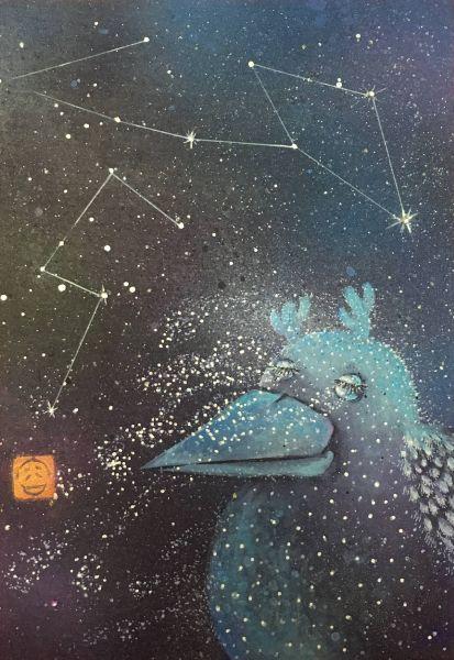 吳佳容-銀河裡的輕旅行-泡影系列4