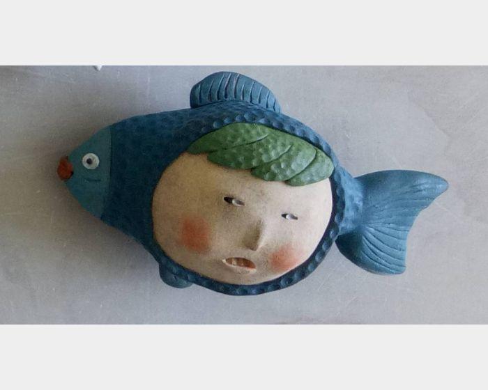 郭舒凡-在魚塘(六)
