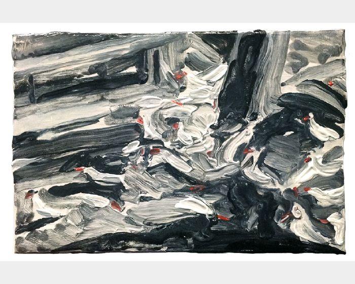 劉致宏-樹下的海龜 Seagulls Under the Tree