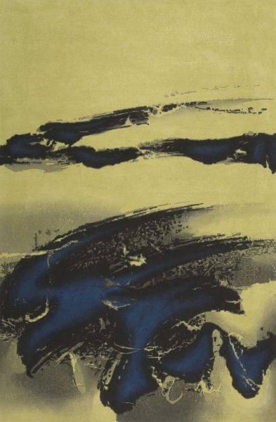 劉國松-壓眉
